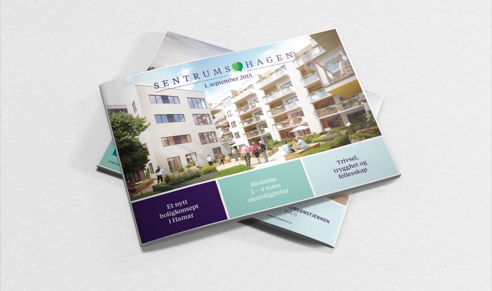 Design av magasin for boligprosjekt